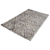 Darcie 144 X 108 inch Iron Ore Grey and Cream Rug in X-Large