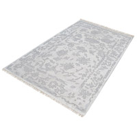 Harappa 144 X 108 inch Silver and Ivory Rug in X-Large