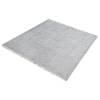 Dimond Home 8905-315 Belleville 16 X 16 inch Grey and Silver Rug in 16-inch Square thumb