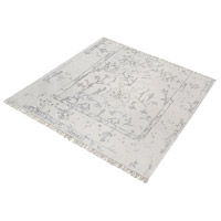Dimond Home 8905-325 Belleville 16 X 16 inch Antique Ivory and Silver Rug in 16-inch Square thumb