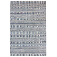 Dimond Home 8905-335 Devan 6 X 6 inch Ivory,Blue Rug in 6-inch Square thumb