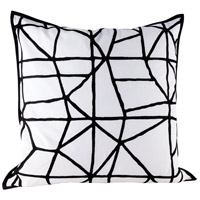 Dimond Home 8906-010-C Cracking 24 inch Embroidery Pillow