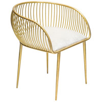 Guinan Gold Chair Home Decor