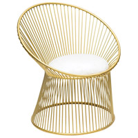 Cecilia Gold Chair Home Decor