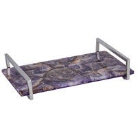 Dimond Home 8986-007 Amethyste Amethyst,Polished Nickel Tray thumb