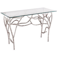 Dimond Home 8987-014 Metropolitan 48 X 20 inch Polished Nickel Console Table Home Decor