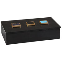 Dimond Home 8989-021 Antilles 12 X 8 inch Black Marble and Mixed Agate Box thumb