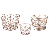 Geometric 22 X 16 inch Basket, Nested