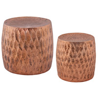 Dimond Home 8990-030/S2 Djembe 18 inch Copper Stool