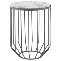 Helm 15 X 15 inch Zinc Accent Table Home Decor