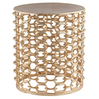 Xanthi 15 X 13 inch Gold Side Table