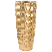 Dimond Home 9166-031 Wave Gold Planter in Small, Small