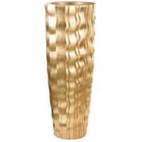 Dimond Home 9166-032 Wave Gold Planter in Large, Large
