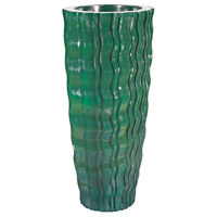 Dimond Home 9166-034 Wave Emerald Planter in Small, Small