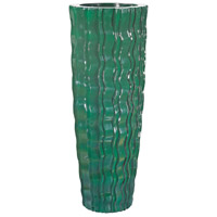 Wave 47 X 18 inch Vessel in Emerald, Large, Large