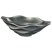 Kona Storm Pewter Planter, Small