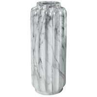 Dimond Home 9166-082 Farrara Faux Marble Planter, Tall thumb