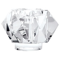 Dimond Home 980011 Faceted Star 7 X 3 inch Pillar Candle Holder, Large thumb