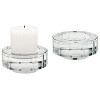 Windowpane 5 X 2 inch Candle Holder in Large, Large
