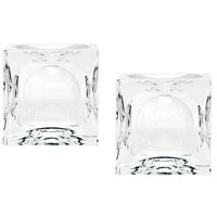 Dimond Home 980016/S2 Cube 2 X 2 inch Candle Holder in Small, Small thumb