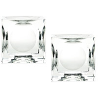 Dimond Home 980017/S2 Cube 4 X 4 inch Candle Holder in Large, Large thumb