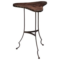 Clover 18 X 18 inch Dark Brown and Oil Rubbed Bronze Table Home Decor