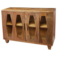 Retro Diamond Natural Mango Cabinet