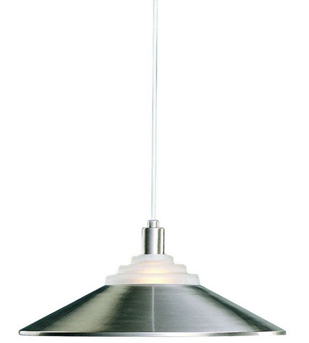 Dolan Designs 100-09 Pinnacle 1 Light 18 inch Satin Nickel Pendant Ceiling Light photo