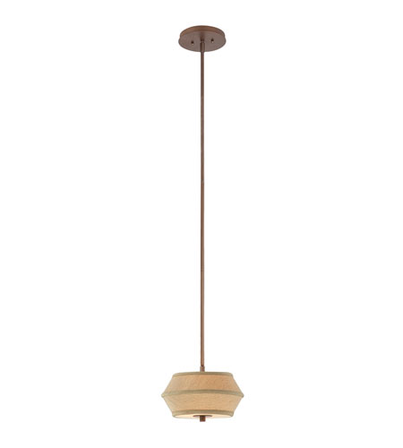 Dolan Designs Sunrise 2 Light Mini Pendant in Classic Bronze 1042-206 photo