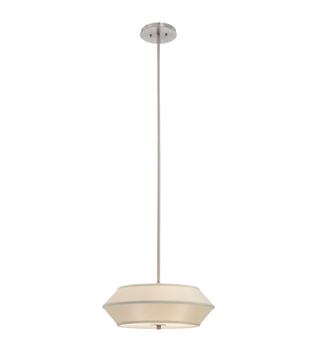 Dolan Designs 1053-09 Sunrise 3 Light 18 inch Satin Nickel Pendant Ceiling Light photo