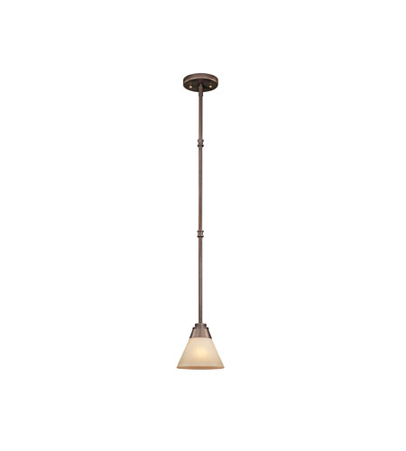 Dolan Designs Covina 1 Light Mini Pendant in Classic Bronze 1061-206 photo