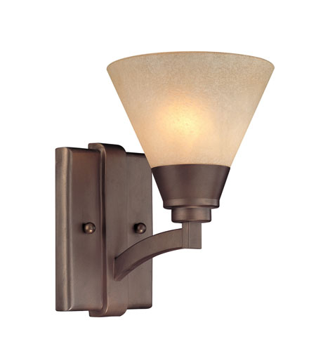Dolan Designs Covina 1 Light Wall Sconce in Classic Bronze 1066-206 photo