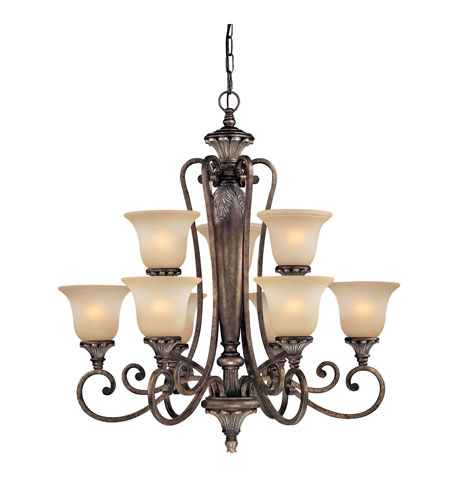 Dolan Designs Greta 9 Light Chandelier in Verona 1072-162 photo
