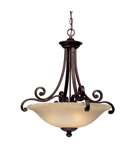 Dolan Designs Brittany 3 Light Pendant in Deep Bronze 1084-207 photo