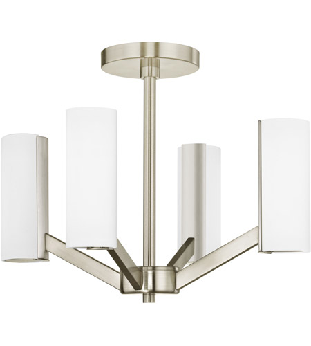 Dolan Designs 1295-09 Radiance LED 17 inch Satin Nickel Semi Flush Mount Ceiling Light photo