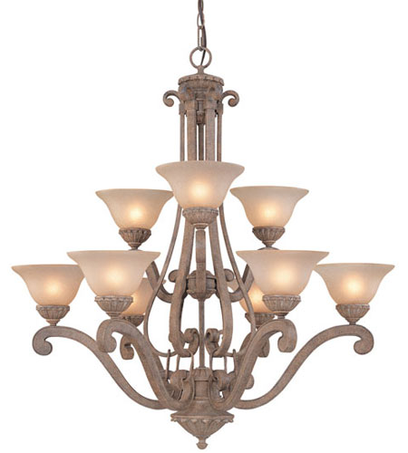 Dolan Designs Bay Harbor 9 Light Chandelier in Sonora 1542-55 photo