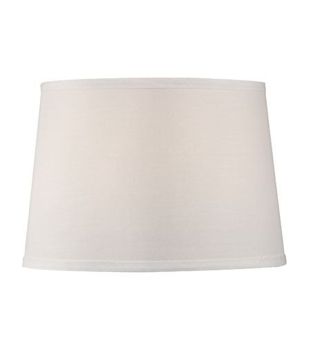 Dolan designs 160010 mix and match white linen 9 inch lamp shade