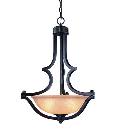 Dolan Designs 1601-20 Garrison 3 Light 20 inch Antique Bronze Pendant Ceiling Light photo