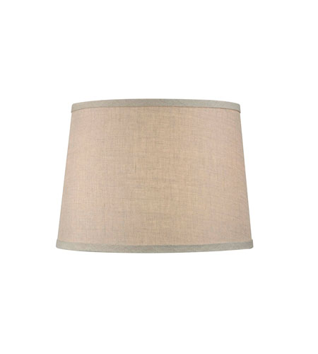 Dolan designs 160145 mix and match beige 10 inch lamp shade