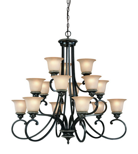 Dolan Designs 1753-148 Hastings 15 Light 38 inch Phoenix Chandelier Ceiling Light photo