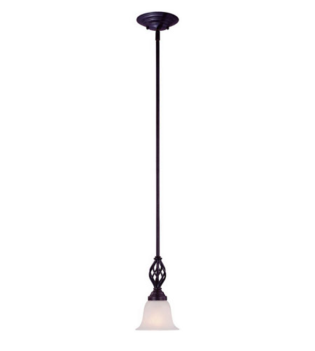Dolan Designs Wicker Park 1 Light Mini Pendant in Olde World Iron 186-34 photo