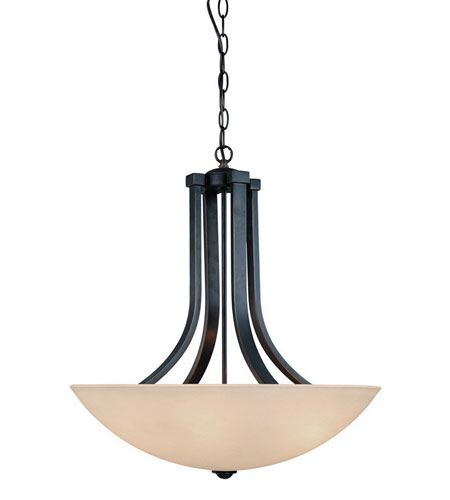 Dolan Designs 207-78 Fireside 3 Light 22 inch Bolivian Pendant Ceiling Light in Carmelized photo