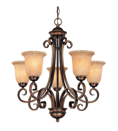 Dolan Designs Medici 5 Light Chandelier in English Bronze 2090-133 photo