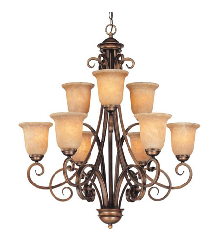 Dolan Designs 2092-133 Medici 9 Light 32 inch English Bronze Chandelier Ceiling Light photo