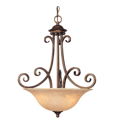Dolan Designs 2094-133 Medici 3 Light 21 inch English Bronze Pendant Ceiling Light photo