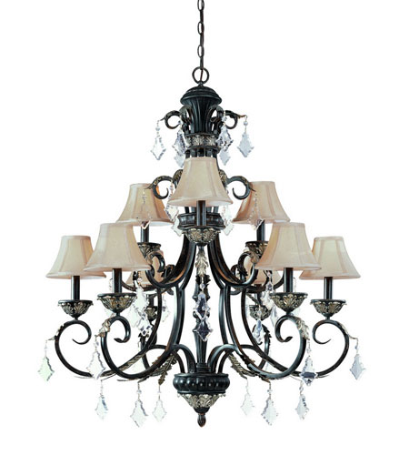 Dolan Designs Florence 9 Light Chandelier in Phoenix 2102-148 photo