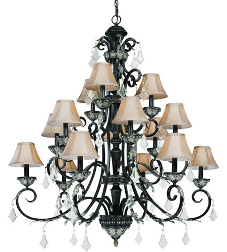 Dolan Designs 2103-148 Florence 15 Light 44 inch Phoenix Chandelier Ceiling Light photo