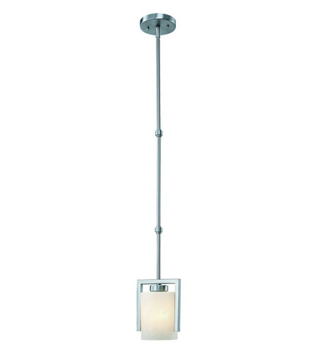 Dolan Designs Uptown 1 Light Mini Pendant in Satin Nickel 2241-09 photo