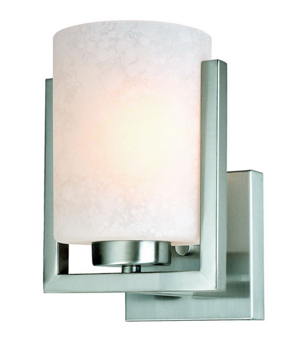 Dolan Designs Uptown 1 Light Wall Sconce in Satin Nickel 2246-09 photo