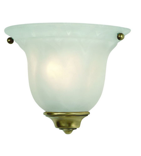 Dolan Designs Richland 1 Light Wall Sconce in Old Brass 225-18 photo